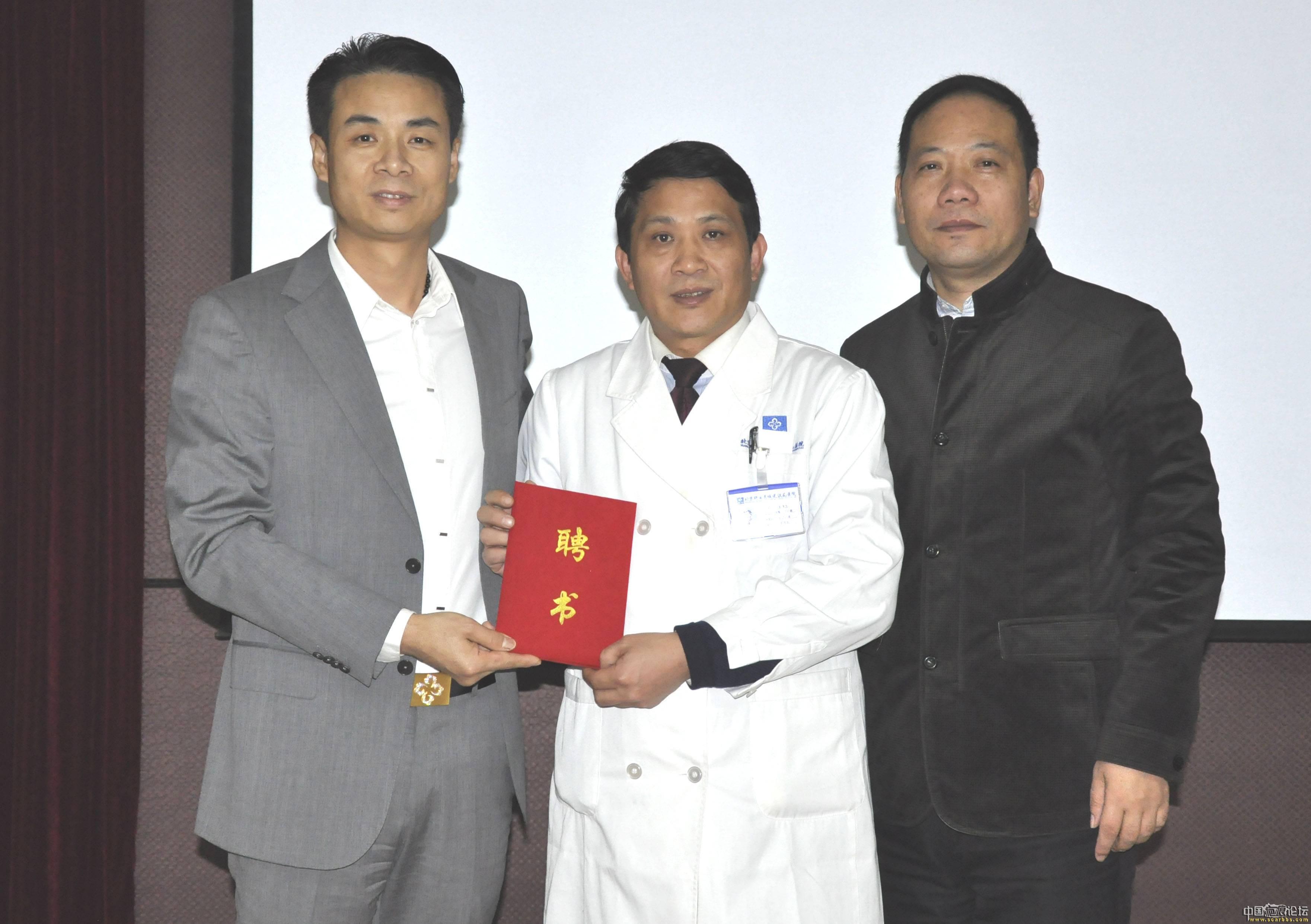 中国疤痕修复第一人蔡景龙正式加入祥云任院长